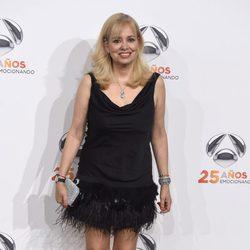 Emma Ozores en la fiesta del 25 aniversario de Antena 3