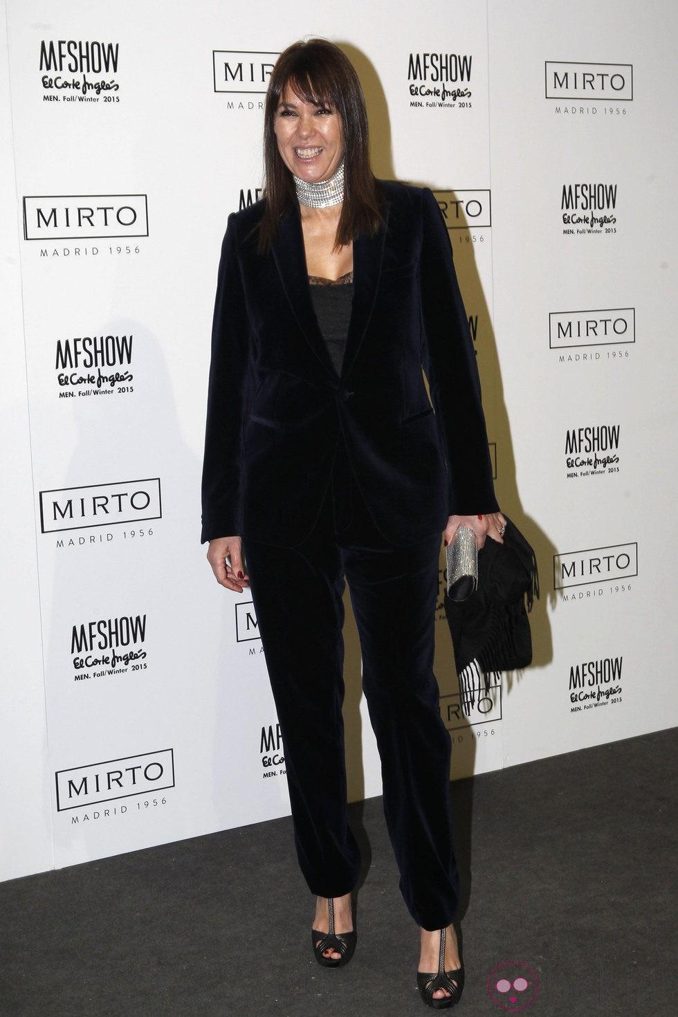 Mabel Lozano en la Madrid Fashion Show Men otoño/invierno 2015