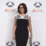 Isabel Gemio en la fiesta del 25 aniversario de Antena 3