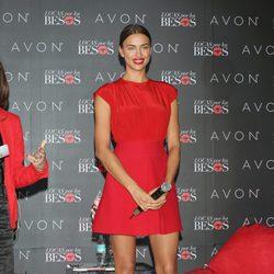 Irina Shayk en su primera aparición pública tras romper con CR7