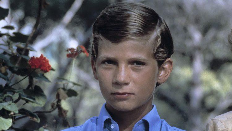 El Rey Felipe cuando era pequeño