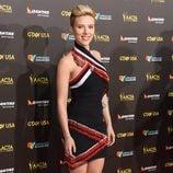 Scarlett Johansson en la alfombra roja de la gala G'Day USA 2015