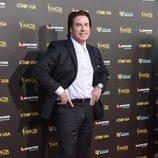 John Travolta en la alfombra roja de la gala G'Day USA 2015