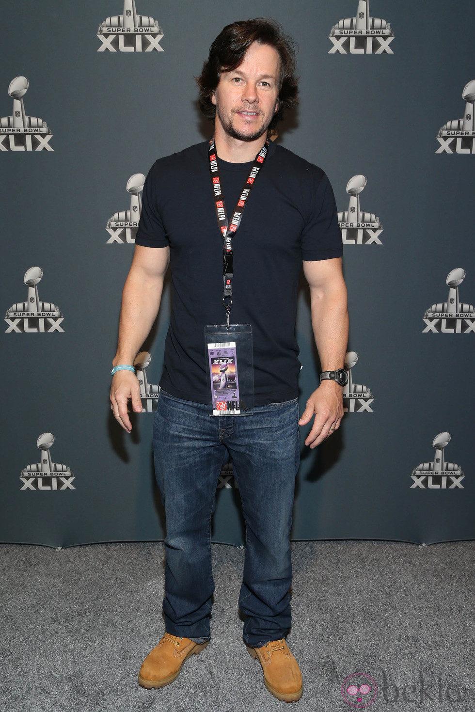 Mark Wahlberg en la Super Bowl 2015
