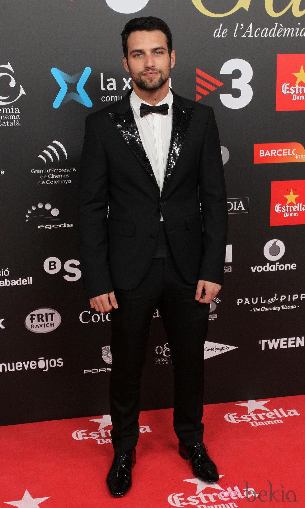 Jesús Castro en los Premios Gaudí 2015