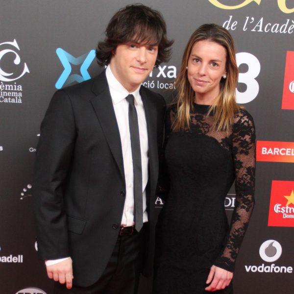 jordi cruz y su novia cristina jim u00e9nez en los premios