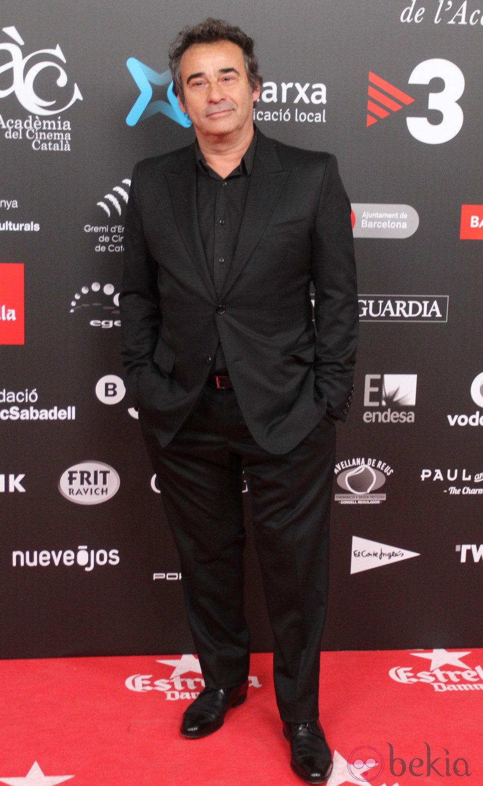 Eduard Fernández en los Premios Gaudí 2015