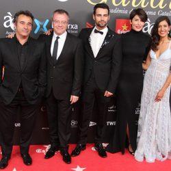 Eduard Fernández, Daniel Monzón, Jesús Castro, Bárbara Lennie y Mariam Bachir en los Premios Gaudí 2015