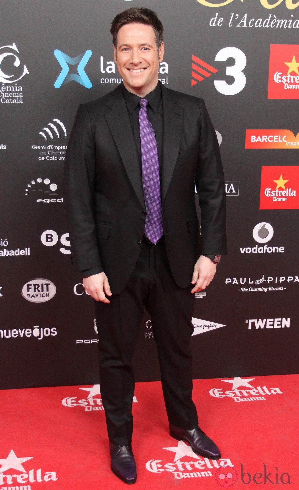 Carlos Latre en los Premios Gaudí 2015