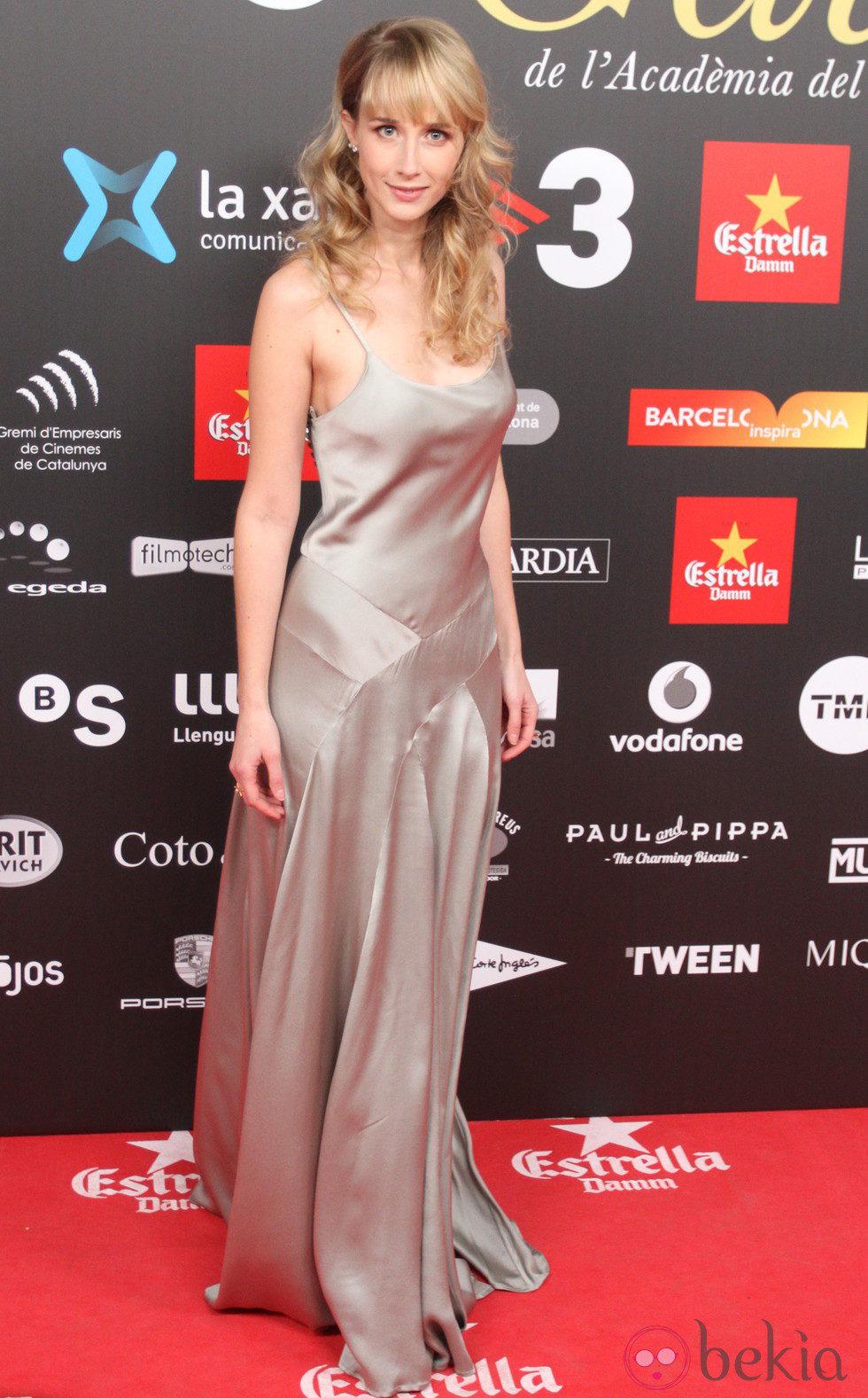 Ingrid García Jonsson en los Premios Gaudí 2015