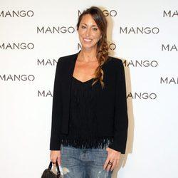 Gemma Mengual en el desfile de Mango en 080 Barcelona fashion primavera/verano 2015