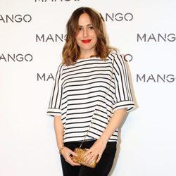 Irene Montalá en el desfile de Mango en 080 Barcelona fashion primavera/verano 2015