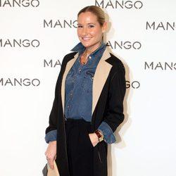 Fiona Ferrer en el desfile de Mango en 080 Barcelona fashion primavera/verano 2015