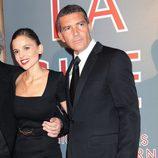 Antonio Banderas y Elena Anaya en el estreno de