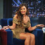 Demi Lovato visita el show de Jimmy Fallon