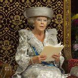 La Reina Beatriz de Holanda pronuncia un discurso en la apertura del parlamento