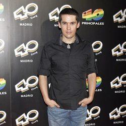 Jorge Ruiz de 'Maldita Nerea' en la inauguración de 40 Café en Madrid