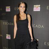 Ana Fernández en la fiesta de inauguración de la tienda Escada en Barcelona