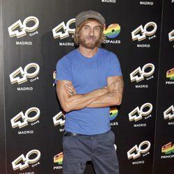 Macaco en la inauguración de 40 Café en Madrid