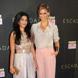 Bar Refaeli y Megha Mittal en la inauguración de la tienda Escada en Barcelona