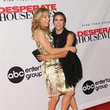 Felicity Huffman y Eva Longoria en la presentación de la octava temporada de 'Mujeres Desesperadas'