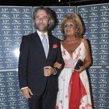 Paloma Cela en la fiesta del 17 aniversario de la discoteca Kapital