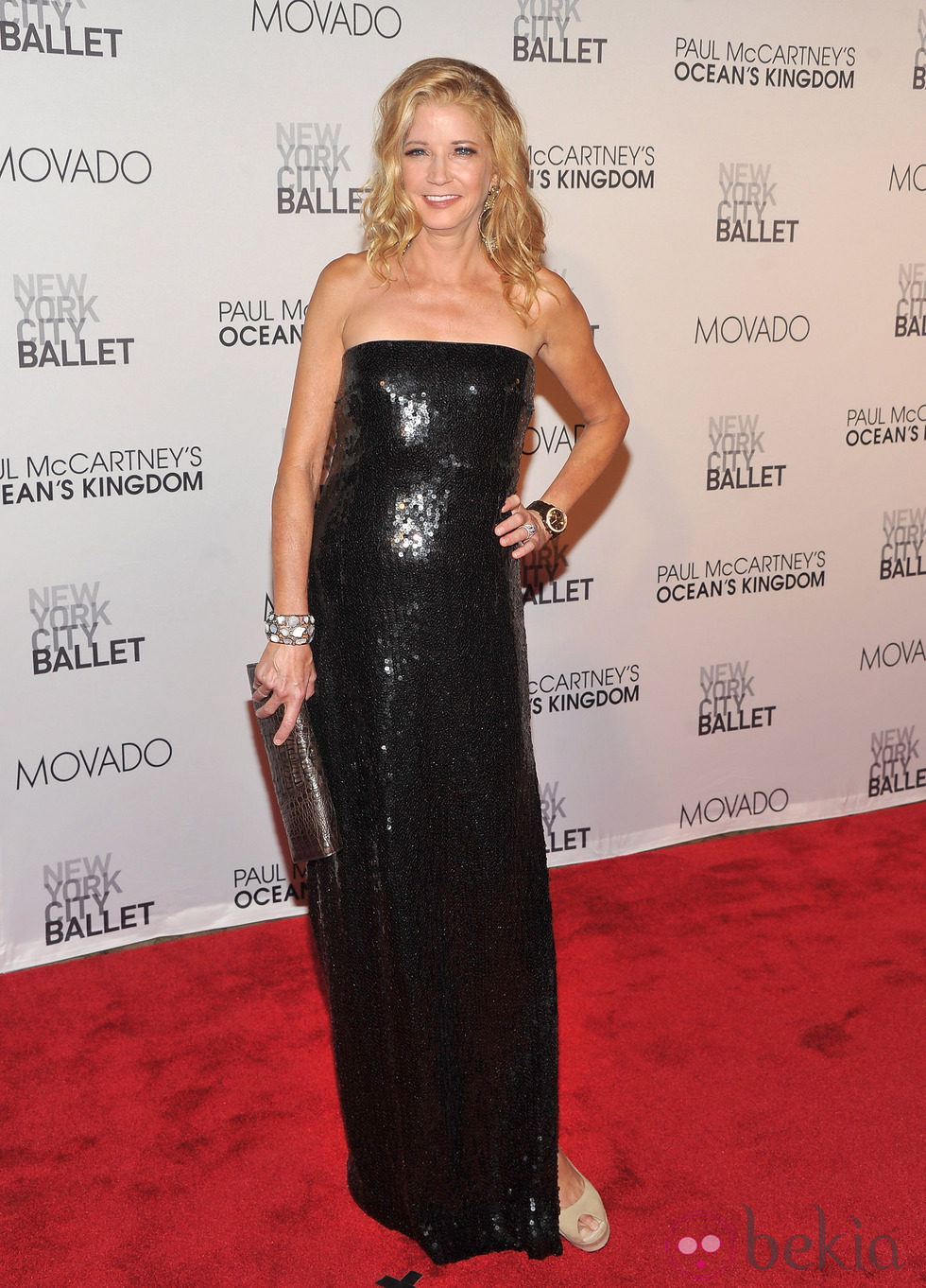 Candace Bushnell en la New York City Ballet Fall Gala 2011
