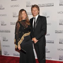Bon Jovi y su mujer en la New York City Ballet Fall Gala 2011