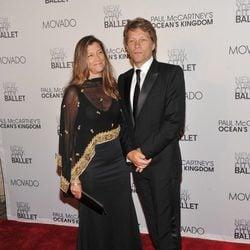 Bon Jovi y su mujer en la New York City Ballet Fall Gala 2011