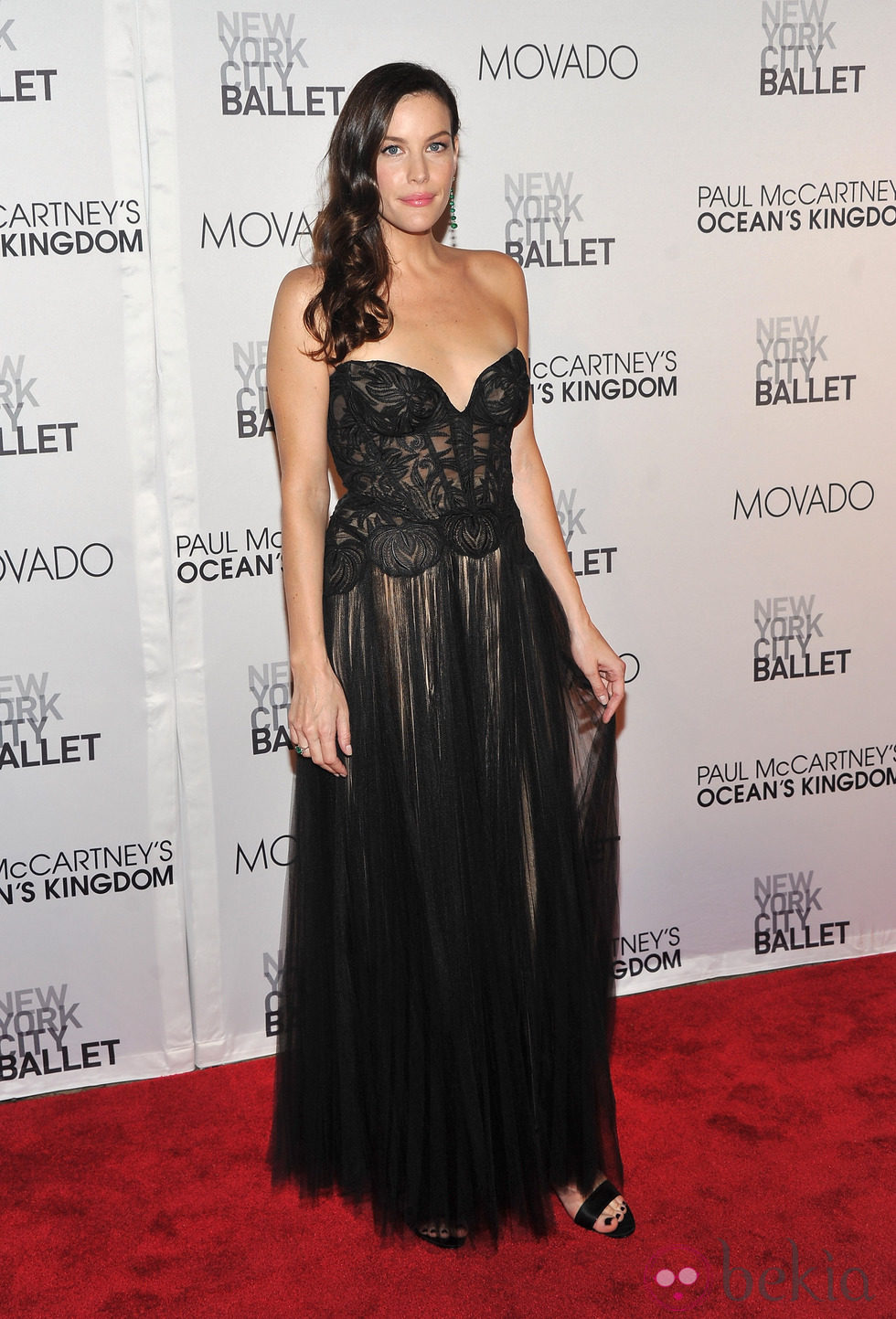 Liv Tyler en la New York City Ballet Fall Gala 2011
