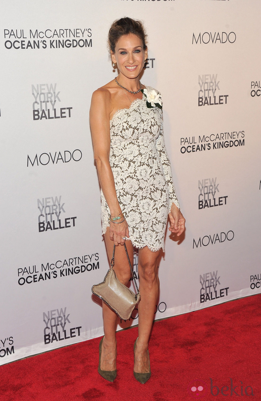 Sarah Jessica Parker en la New York City Ballet Fall Gala 2011