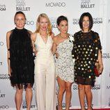 Stella McCartney, Naomi Watts, Sarah Jessica Parker y Jessica Seinfeld en la New York City Ballet Fall Gala 2011