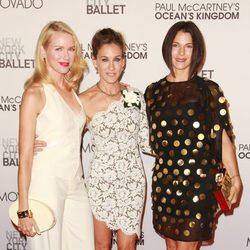 Naomi Watts, Sarah Jessica Parker y Jessica Seinfeld en la New York City Ballet Fall Gala 2011