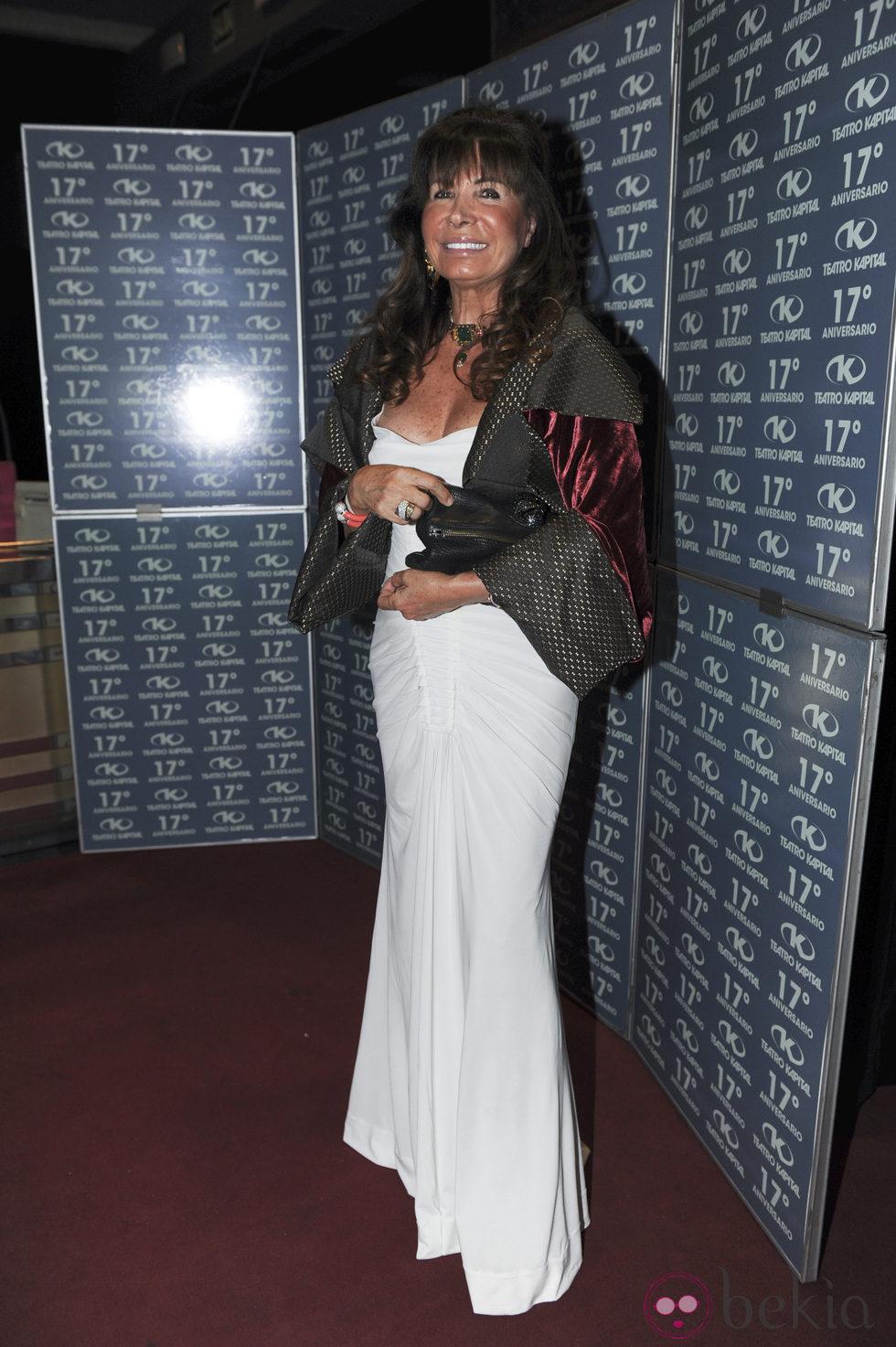 Helena Aznar en la fiesta del 17 aniversario de la discoteca Kapital
