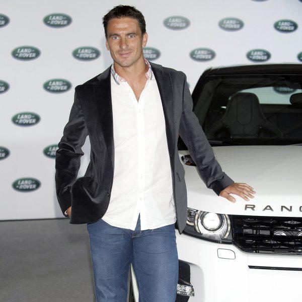Famosos en la presentación del coche 'Range Rover Evoque'