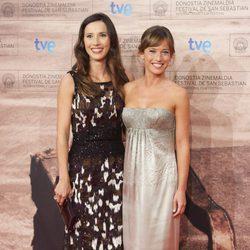 Barbara Goenaga y Marta Etura en la gala de clausura del Festival de San Sebastián 2011
