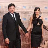 Carlos Bardem y Cecilia Gessa en la clausura del Festival de Cine de San Sebastián 2011