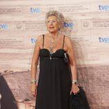 Pilar Bardem en la gala de clausura del Festival de Cine de San Sebastián 2011
