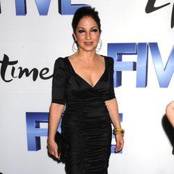 Gloria Estefan en el estreno de 'Five' en Nueva York