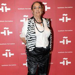 Nati Mistral en el homenaje a Amparo Rivelles en el Instituto Cervantes