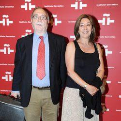 Fiorella Faltoyano en el homenaje a Amparo Rivelles en el Instituto Cervantes