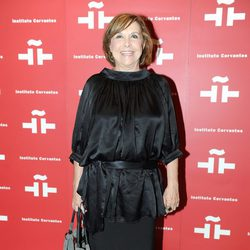 María Luisa Merlo en el homenaje a Amparo Rivelles en el Instituto Cervantes