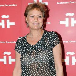 Paca Gabaldón en el homenaje a Amparo Rivelles en el Instituto Cervantes