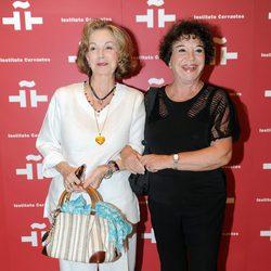 Carmen de la Maza en el homenaje a Amparo Rivelles en el Instituto Cervantes