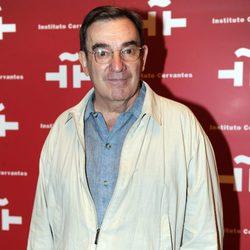 Pedro Olea en el homenaje a Amparo Rivelles en el Instituto Cervantes