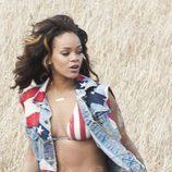 Rihanna, muy patriótica en la grabación de 'We found love'