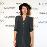 Andrea Guasch en el desfile de Mango en 080 Barcelona fashion primavera/verano 2015