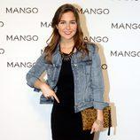 Natalia Sánchez en el desfile de Mango en 080 Barcelona fashion primavera/verano 2015