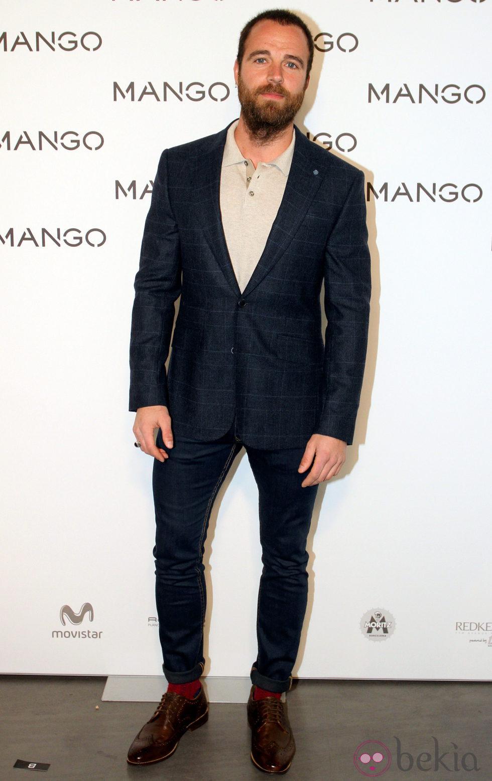 Carles Francino en el desfile de Mango en 080 Barcelona fashion primavera/verano 2015