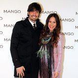 Felipe López y Mireia Canalda en el desfile de Mango en 080 Barcelona fashion primavera/verano 2015